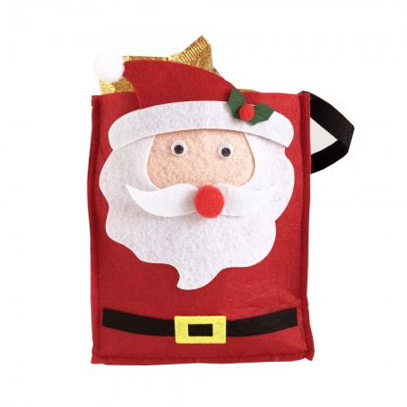 Cabas de Noël avec 24 fortune cookies + 1 cadeau porte-bonheur