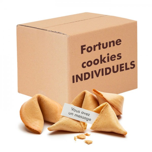 Fortune cookies individuels fabrication française
