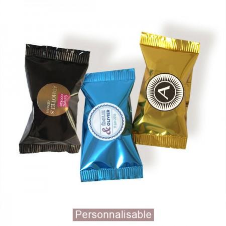 fortune cookies sticker emballage personnalisé