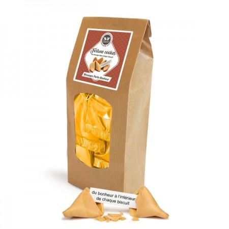 Biscuits porte-bonheur en paquet