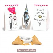 marque-place chevalets fortune cookies