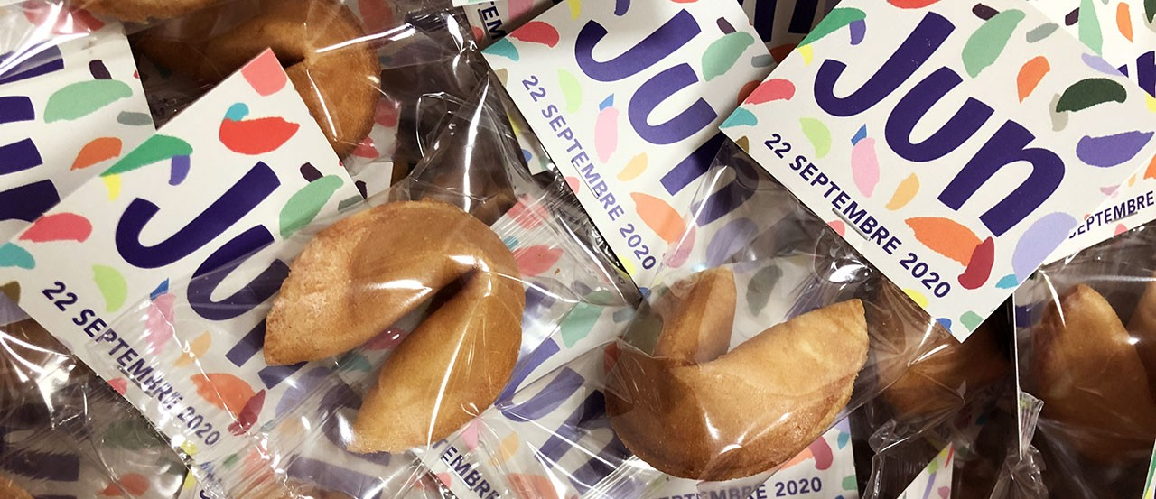 Flyer card Fortune Cookies
