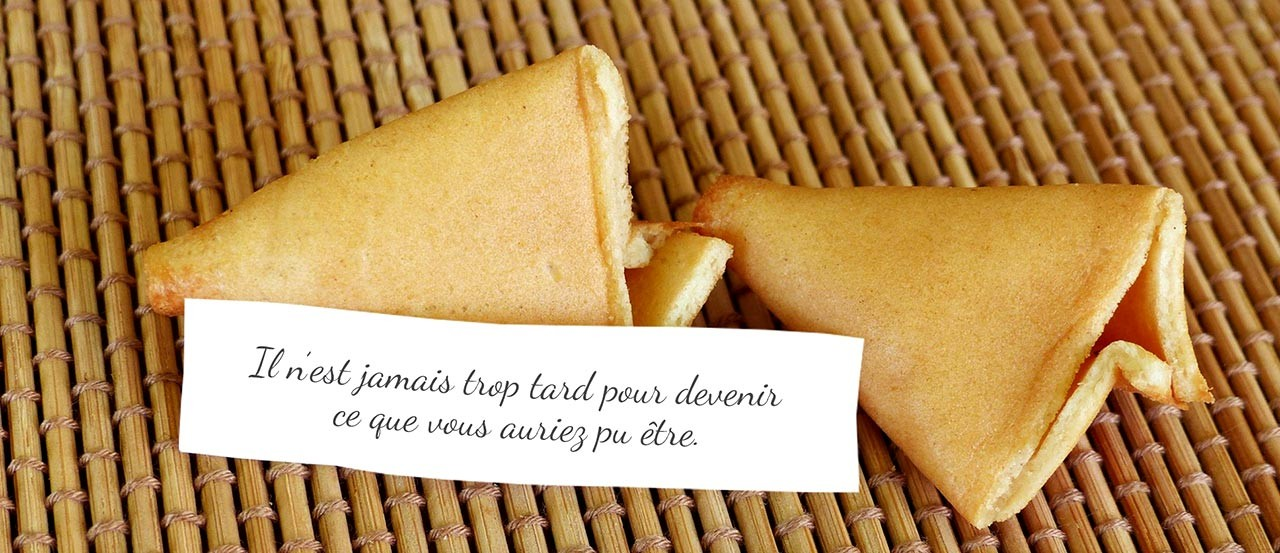Message fortune cookies